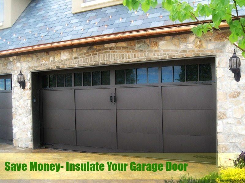 How To Insulate A Garage Door Neighborhood Garage Door Repair